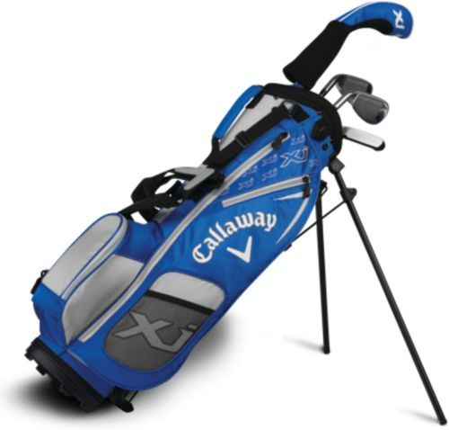 Callaway Junior Xj1 6 Piece Complete Set Height 38 46 Golf Bags Kids Golf Golf Club Sets