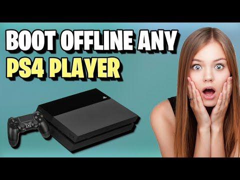 How To Boot Someone Offline On Ps4 Boot Any Playstation Player Offline Online Video Games Ps4 Youtube