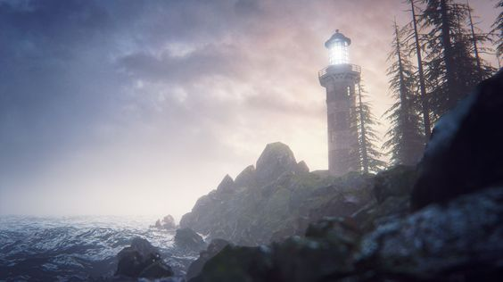 Lighthouse Shore (UE4 Environment) - Polycount Forum