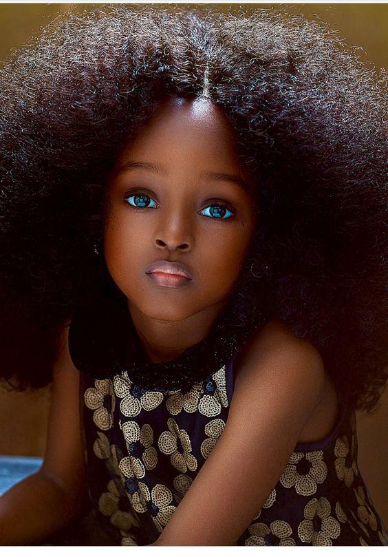 Niña Nigeriana es nombrada  La más bella del mundo.