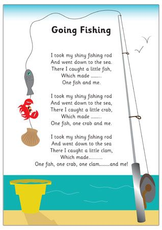 fishing rhyme fishing poem rod fishing going fishing poems ks1 sea ... Fly Fishing Rods