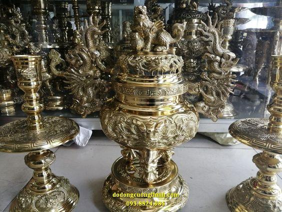 Lư đồng Dapha, tam sự lư tròn Đại Phát