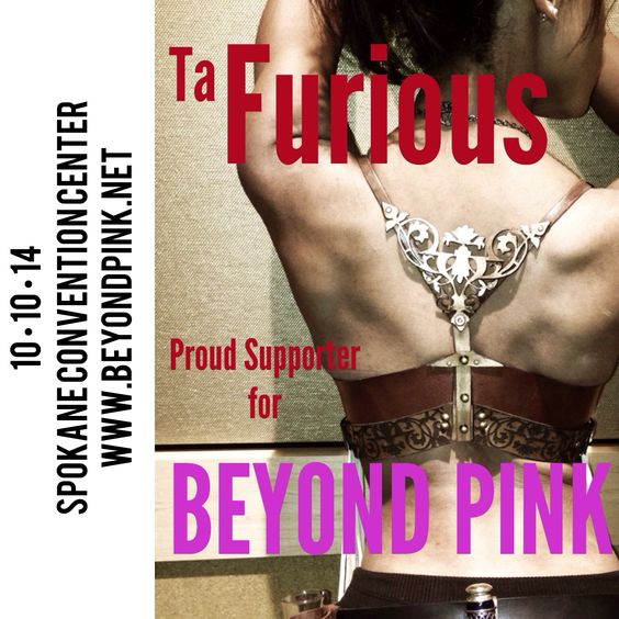 This is the leather bra I designed last year for beyond pink. I'm so excited to unveil the leather awesomeness I'm planning for this year!!! Get your tickets at www.beyondpink.net