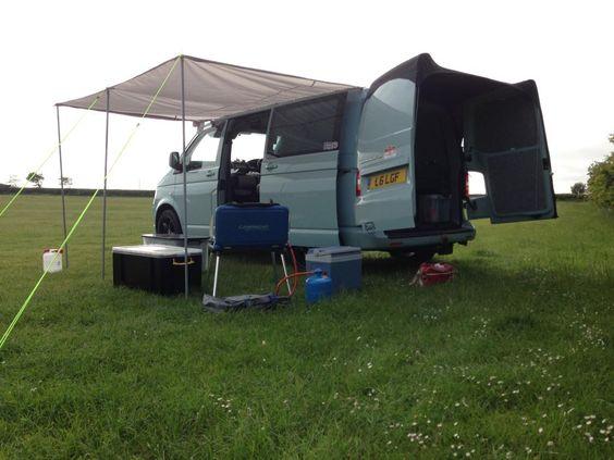 Barn Door Tent   Campervan Living   Pinterest   Vw t5, Vw ...