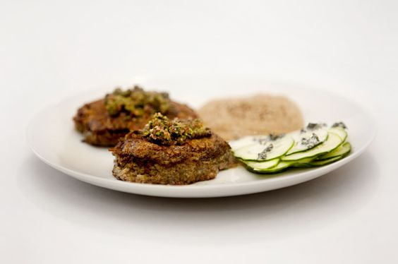 """Mouth-Watering Lamb Shammi Kababs With Amaranth: The first time I made these kababs I actually uttered the words: """"This is one of the absolute best meals I've ever had."""" May seem like a rash statement, but I don't regret it. This dish is complex, delicate and a mouth-watering delight."""