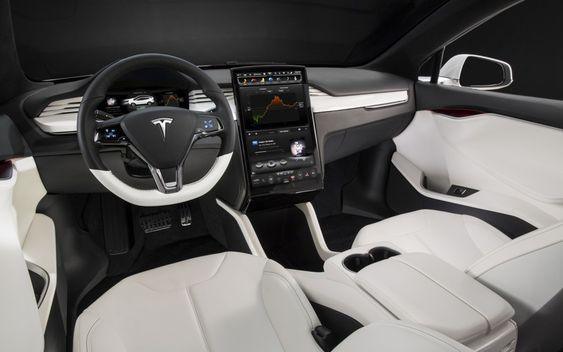 tesla model s interior 216 miles per charge 110 mph top cruise speed and less than 100 000. Black Bedroom Furniture Sets. Home Design Ideas