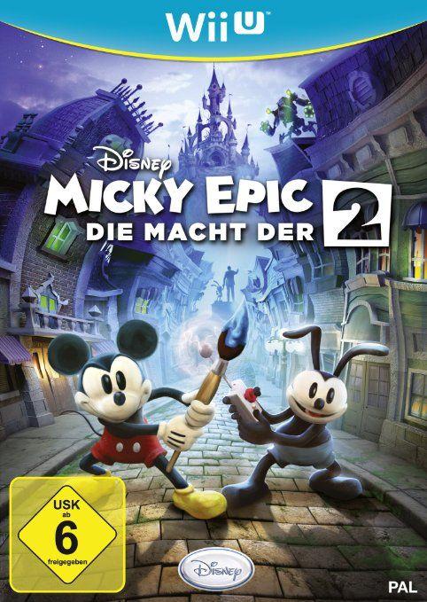 Disney Micky Epic - Die Macht der 2: Nintendo Wii U: Amazon.de: Games 30,96 €