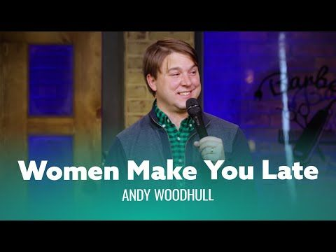 Funniest Joke You Ve Ever Heard About Being Late Andy Woodhull Full Special Youtube Comedy Specials Funny Jokes Comedians