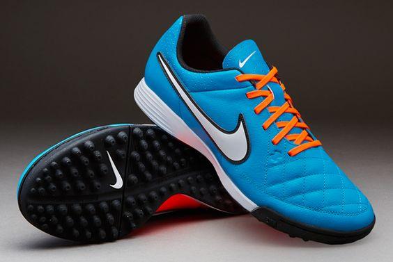Nike Genio Leather TF blue/orange