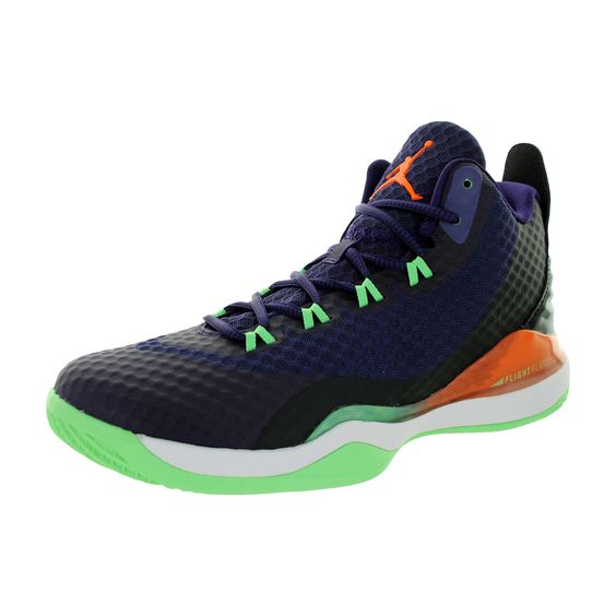 Nike Jordan Men's Jordan Super.Fly 3 Po Ink/Brightt Mandarin/Black/White  Basketball Shoe | Products | Pinterest | White basketball shoes, Super fly  and ...