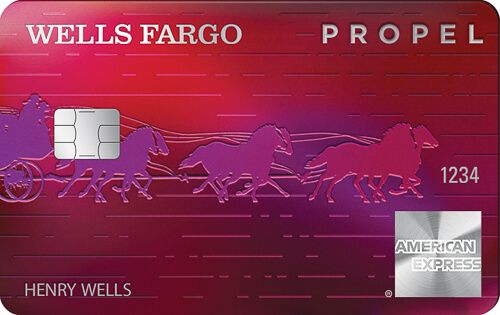 Wells Fargo American Express Propel Credit Card Credit Card Design Credit Card Pictures Business Credit Cards