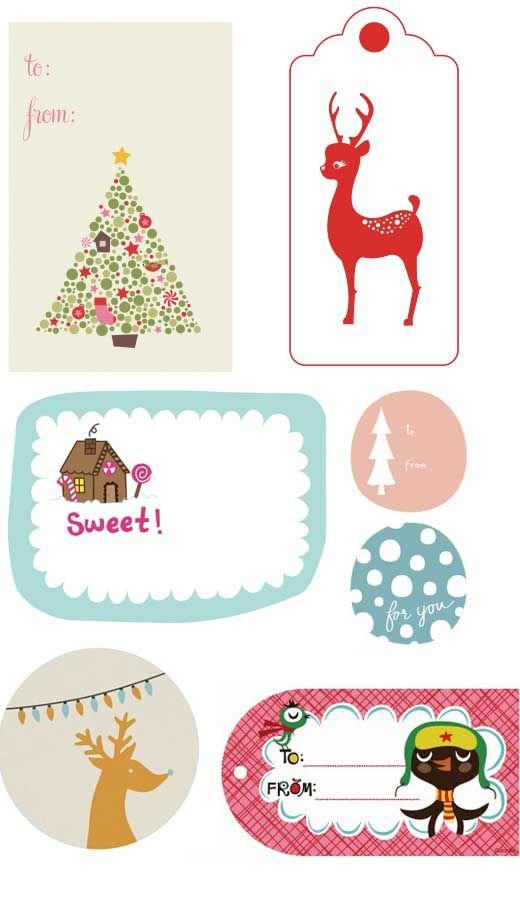 printable gift tags.: