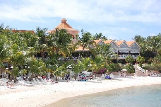 Picture of Coco Reef Tobago, Crown Point.  A great man-made beach.  All inclusive as it gets in Tobago.