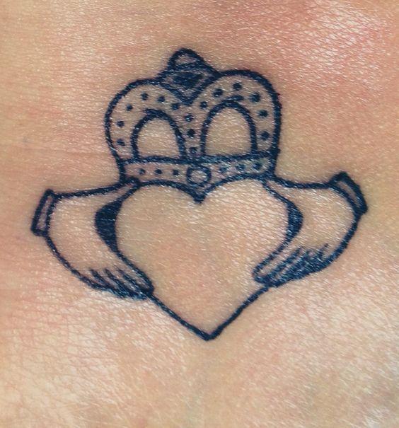 Irish Tattoo Ideas Siblings: Claddagh Tattoo, Sister Tattoos And Sisters On Pinterest