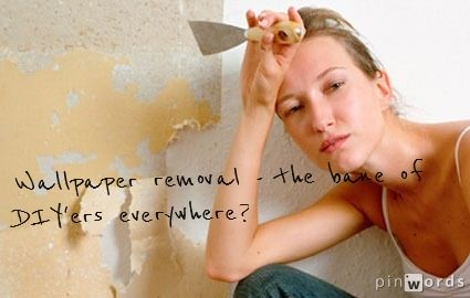 Wallpaper removal doesn't have to be hard.   http://www.diynetwork.com/how-to/how-to-remove-wallpaper/comments/index.html