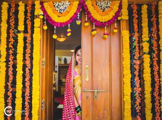 Desi wedding decor and Indian wedding photos