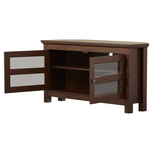 Found it at Wayfair - Spartansburg Wood Corner TV Stand