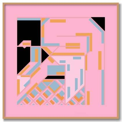 BONNARD GIRL WIPING by Bob Kessel