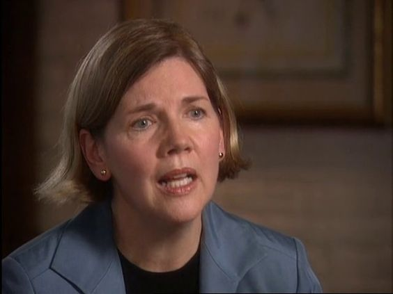 Flashback: Elizabeth Warren Basically Predicts the Great Recession  Keep an eye on Elizabeth...