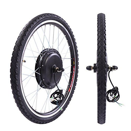 Jaxpety 36v 500w Electric Bicycle Cycle 26 E Bike Front Wheel