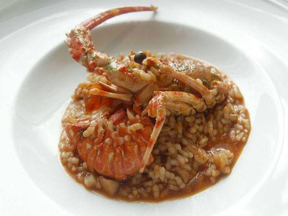 Arroz meloso de Langosta Reserva online para comer langosta. EligeTuPlato.es
