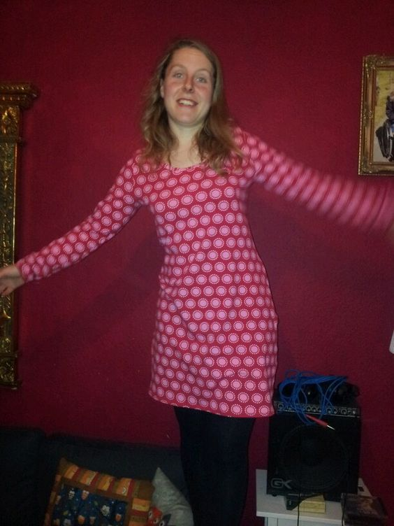 Basic Tunika nach Frau Liebstes - Weihnachtskleid :-)