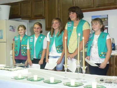 Scripts for a variety of Girl Scout ceremonies, including Investiture, Rededication, Bridging, and Court of Awards (all levels).  A great resource from the Girl Scouts of Souther Illinois!