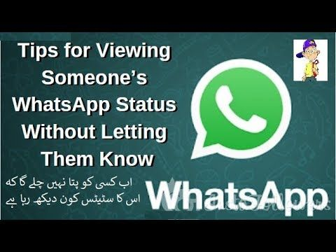How To Watch Someones Whatsapp Status Without Them Knowing