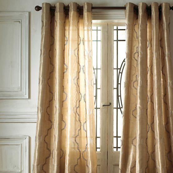 Fortune Ivy Grommet Top Curtain Panel Jcpenney