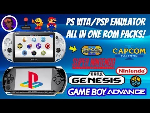 Ps Vita Psp Emulator All In One Packs 2019 Snes Sega Nes