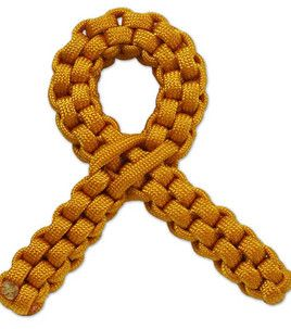Parachute Cord support ribbon. #Craft it using supplies from Joann.com or JoAnn Fabric and Craft stores.