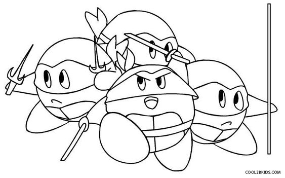 Printable Kirby Coloring Pages For Kids Cool2bkids Coloring Pages Coloring Pages For Kids Animal Coloring Pages