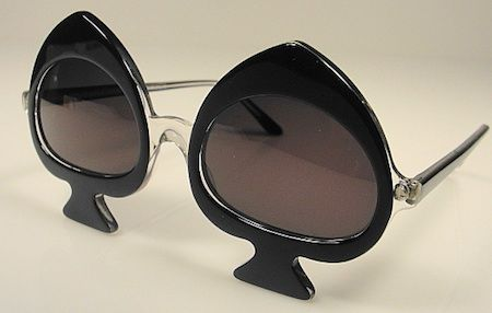 Ante Up With Playing Card Eyewear For National Playing Card Day- Anglo American Spades Eyewear Circa 1980