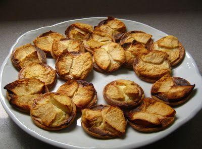 ChupChupChup: Galletas con queso, manzana y canela