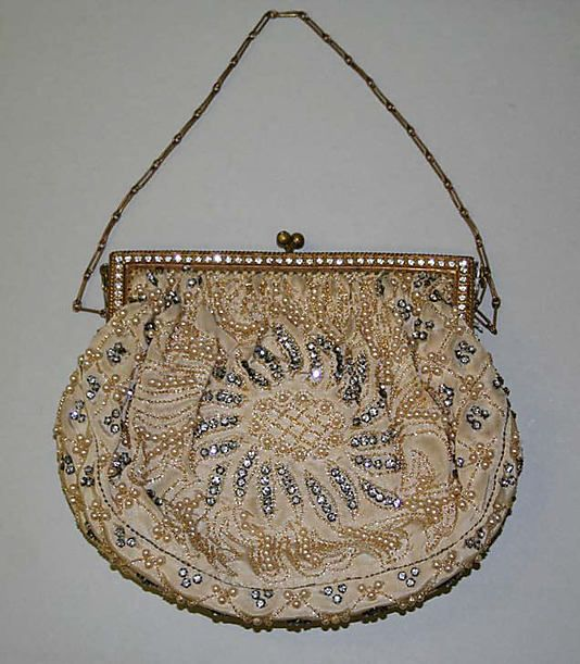 Bag, Evening  Date: 1928 Culture: French