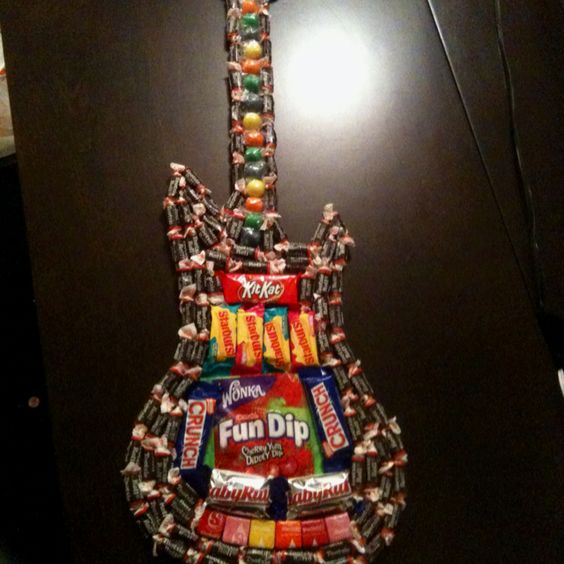 Candy Guitar Need To Make This For Brad Cool Crafty Creations Pinterest Need To Ryan O