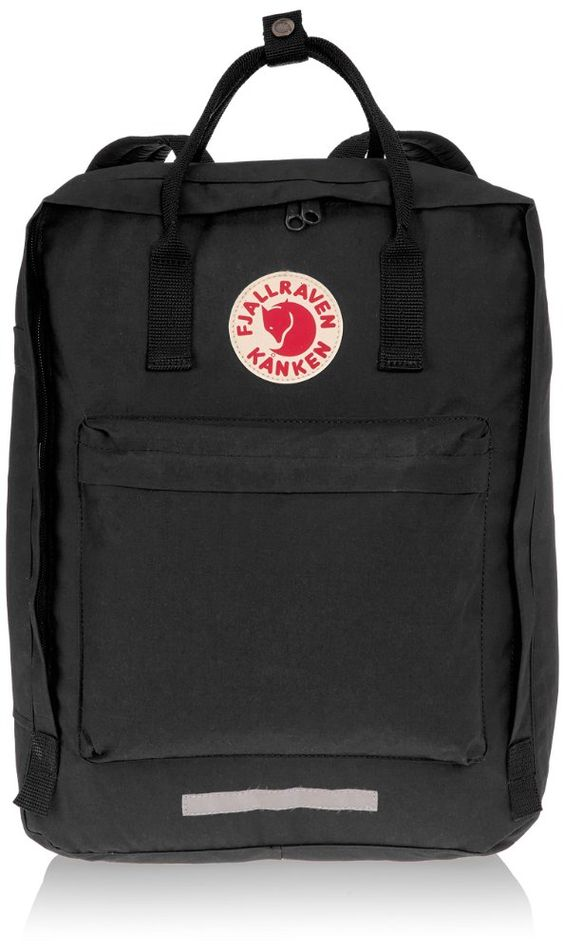 fjallraven kanken backpack black 15-liter