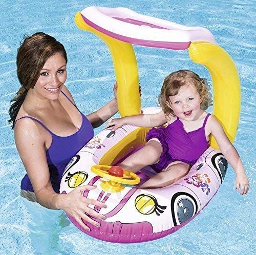 Kids Childs gonflable piscine décrépit Flotteur Transat Lilo plage mer sauter bateau jouet