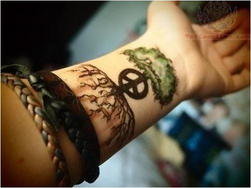Tattoo 20 Hippy Tattoo Ideas For Your Next Ink Click To See More Hippie Tattoo Subtle Tattoos Peace Tattoos