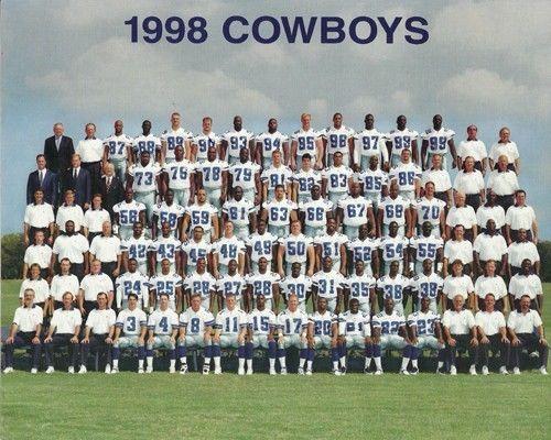 1998 Dallas Cowboys Football Team 8x10 Photo Picture Sports Mem