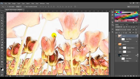 Video tutorial Photoshop CS6: effetto pastello