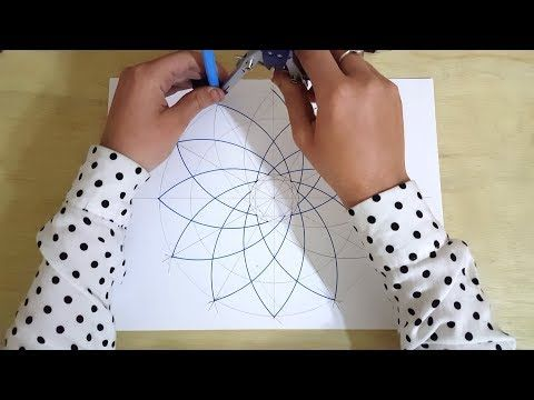 Pattern 16 Details How To Draw An Islamic Geometric Pattern زخارف اسلامية هندسية Youtube Geometric Drawing Geometric Geometric Pattern
