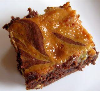 Dulce de Leche Brownies /tremendo/