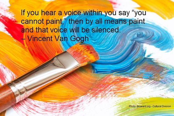 when voice says you can't paint vincent van gogh - Google Search