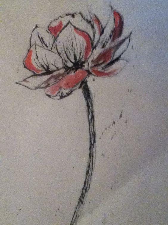 Ink & Watercolour - Kristján Ingvarsson