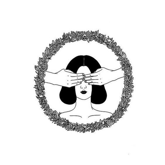 Conheça Henn Kim e suas ilustrações em P&B repletas de subjetividade…: