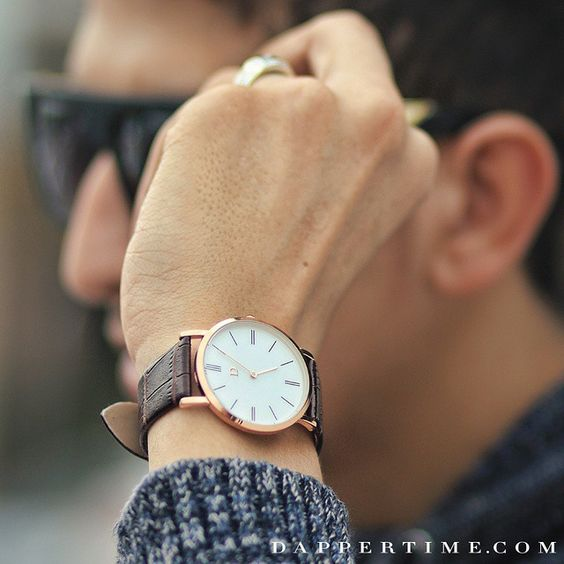 The clean faced #DTathos is to your wrist what a good clean shave is to your face. Photo via @achrafdoubleh  #DapperTime #dapper #menlifestyle #menstyle #mensfashion #menwithclass #menwithstyle #instafashion #gentleman #watches #timepieces #menswatches