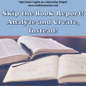 alternatives to book reports high school