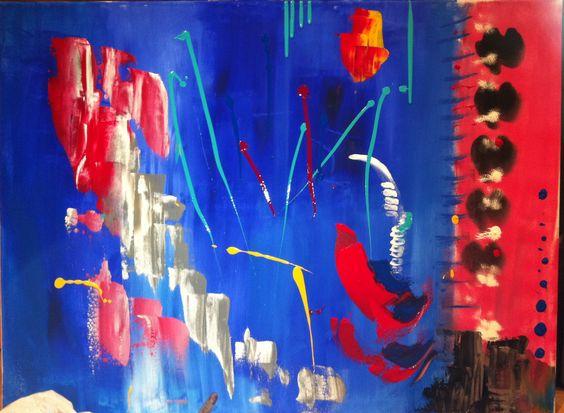 Acrylique 30 X 40 (pouces) 76,5 X 102 (cm) VENDU