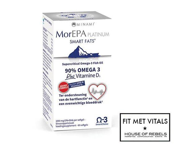 Visoliesupplementen zijn een goede aanvulling op de dagelijkse voeding. MorEPA Platinum is Minami's hoogst gedoseerde visoliesupplement. EPA en DHA in Minami MorEPA Platinum dragen bij aan gezond hart** en de DHA ondersteunt de hersenen* en het gezichtsvermogen*. Een keertje proberen? Je shopt dit product t/m 13 juli met 10% korting via http://www.allesvanvitals.nl/  #vitals #minami #visolie #health #pr #houseofrebels *de gunstige effecten worden verkregen bij dagelijkse…